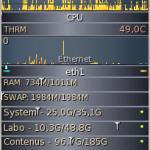 GKrellM – Monitoring temps reel