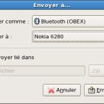 Bluetooth / Nokia et Fedora