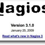 Mise à jour de Nagios en version 3.1.0
