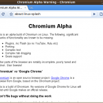 Installation de Chromium, la source de Google Chrome