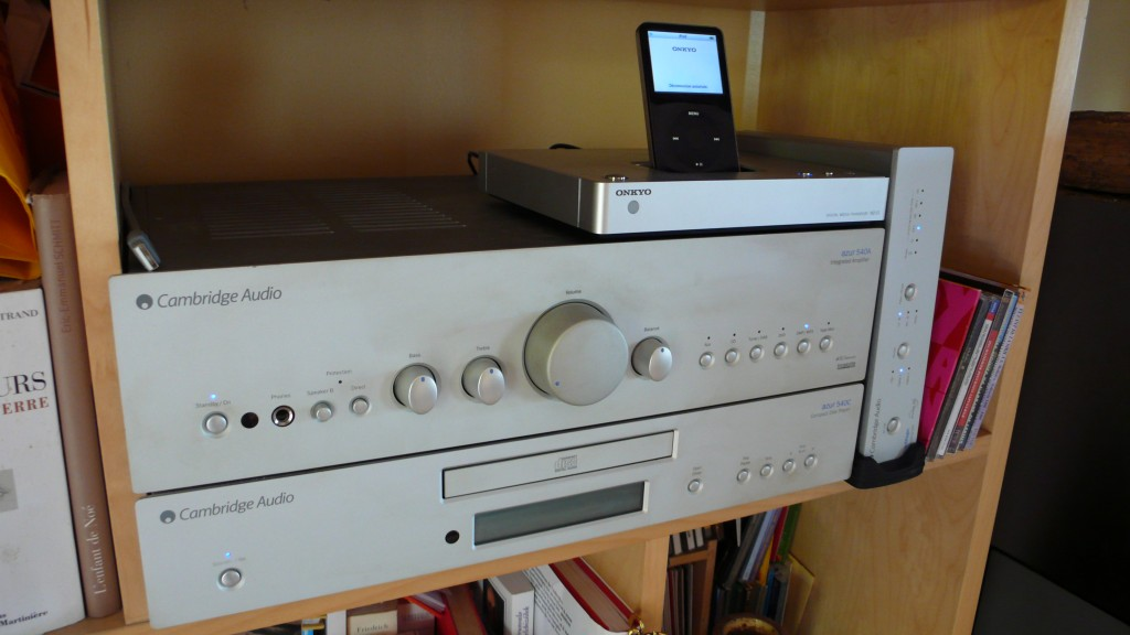 Ma chaine Hi-Fi Cambridge