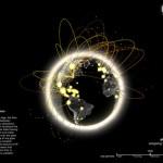 9 cartes du réseau Internet