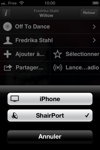 Airplay Spotify