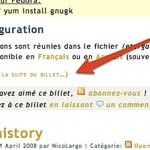 Configurer le tag more dans Wordpress